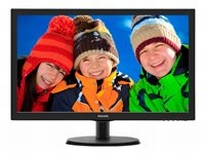 Philips V-line 223V5LSB - LED monitor - 21.5