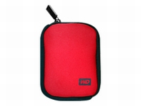 WD My Passport Carrying Case Red WDBABK0000NRD