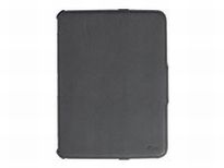 Trust Stile Folio Stand - Protective case for tablet - black